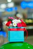 buketten blommar fjädern Royaltyfri Fotografi