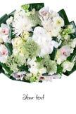 buketten blommar illustrationvektorn arkivbild