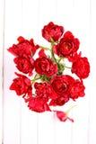 buketten blommar red Arkivbilder