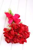buketten blommar red Royaltyfri Foto