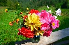 buketten blommar sommar Royaltyfria Bilder
