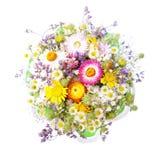 buketten blommar wild Arkivfoto