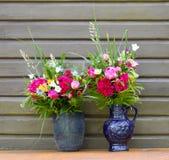 Buketter av blommor Arkivfoto