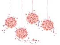 Buketter av blommor Royaltyfria Bilder