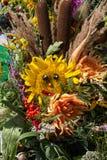 buketter av blommor och örter Royaltyfria Bilder