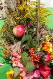 buketter av blommor och örter Royaltyfri Foto