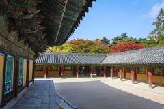 Bukguksa temple coumpound in Gyeongju, Korea Stock Photography