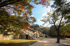 Bukguksa temple in Gyeongju, Korea - Series 2 Stock Images