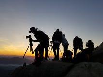 Bukhansan góra Zdjęcie Stock