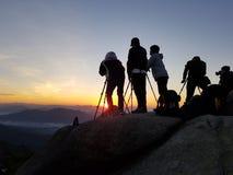 Bukhansan góra w Seoul mieście południowy Korea Obraz Stock