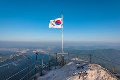 Bukhansan mountains in Seoul, South Korea.  Stock Image