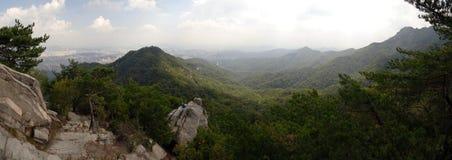 Bukhansan Nationaal Park Stock Afbeelding