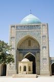 bukhara kalyan moské Arkivfoto