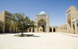 bukhara kalyan moské Royaltyfria Foton