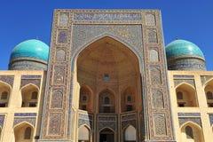 Bukhara: Miri Arab Madrasah Imagen de archivo