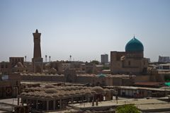 Bukhara old city view Stock Photos