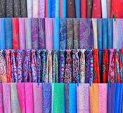 Bukhara: traditional uzbek textile Stock Photography