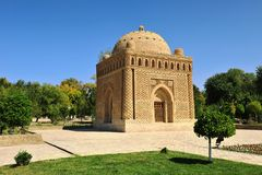 Bukhara, Usbekistan: Mausoleum Samani Ismail stockfoto