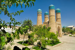 Bukhara, Uzbekistan. Beautiful historical mosque in Bukhara, Uzbekistan Stock Image