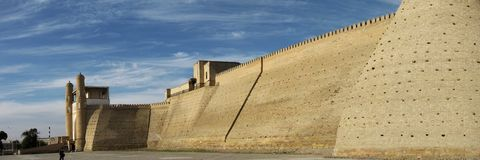 Bukhara walls Royalty Free Stock Photo