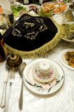 Bukharian jüdischer Passahfest Ceder Lizenzfreies Stockbild