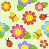 bukietów formie ciągnąć wzoru mały bezszwowy kwiat Obraz Stock