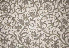 bukietów formie ciągnąć wzoru mały bezszwowy kwiat Brown wzór Zdjęcia Royalty Free