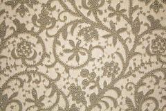 bukietów formie ciągnąć wzoru mały bezszwowy kwiat Brown wzór Obraz Stock