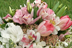 bukietów kwiaty Fotografia Royalty Free