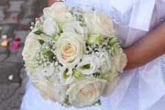 3 bukietów ostrości przedpola ślub Zdjęcie Royalty Free
