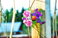 bukietów sztuczni kwiaty Obrazy Royalty Free