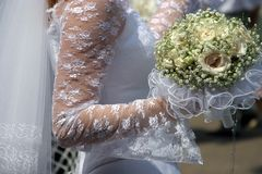 bukiet ślub obraz stock