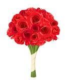 bukiet świętowania dnia kwiaty trochę czerwone róże również zwrócić corel ilustracji wektora ilustracji