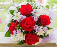 Bukiet czerwone róże Zdjęcie Stock