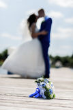 Bukiet de bruid Royalty-vrije Stock Fotografie