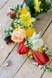 Bukiet kolorowi wiosna kwiaty obrazy royalty free