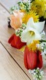 Bukiet kolorowi wiosna kwiaty zdjęcie royalty free