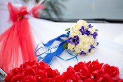 bukiet kwiatów ślub obraz royalty free