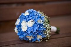 bukiet kwiatów ślub Obrazy Stock