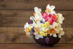 bukiet kwiatów wiosny Fotografia Stock