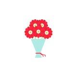 Bukiet kwiat ikona Obrazy Stock