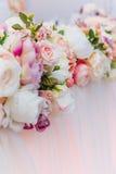 Bukiet kwiaty, Ślubna dekoracja, ręcznie robiony Fotografia Royalty Free