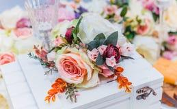 Bukiet kwiaty, Ślubna dekoracja, ręcznie robiony Zdjęcie Stock