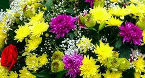 Bukiet kwiaty Fotografia Royalty Free
