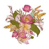 Bukiet kwiaty ilustracji