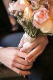 Bukiet, kwiaty, róże, piękny bukiet Zdjęcia Stock