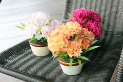 bukiet kwitnie róże Fotografia Royalty Free