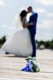 Bukiet la jeune mariée Photographie stock libre de droits