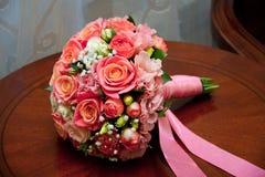 Bukiet ślubów kwiaty zdjęcia stock
