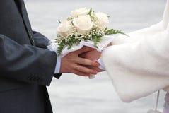 bukiet ślub Zdjęcia Stock